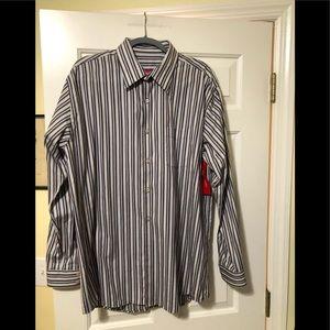 Emanuel Ungaro designer needs striped shirt XL